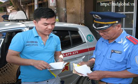 Xử phạt hành chính về phù hiệu xe