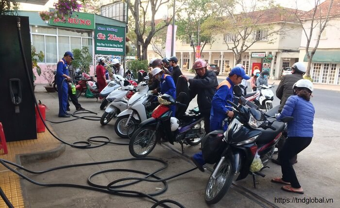 Thuế môi trường xăng dầu